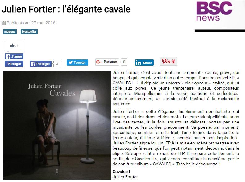 Chronique BSC news